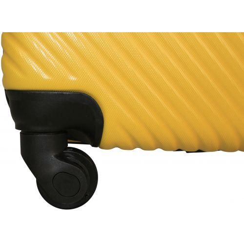 Чемодан Fly 2702 большой желтый