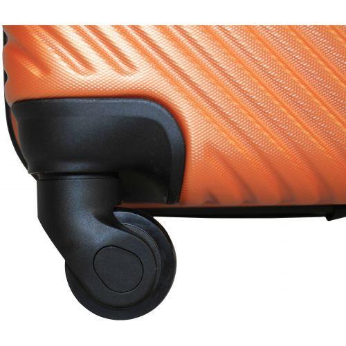 Чемодан Fly 2702 маленький оранжевый