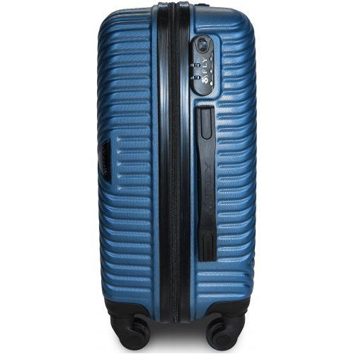 Чемодан Fly 2702 мини ручная кладь синий