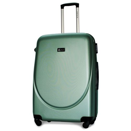 Набор чемоданов Fly 310 4 штуки аквамарин