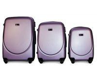 Набор чемоданов Fly 310 3 штуки аметистовый