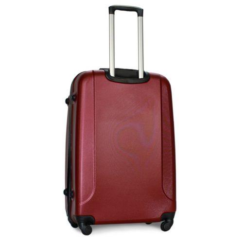 Набор чемоданов Fly 310 4 штуки бордовый