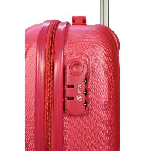 Чемодан Fly 310K мини ручная кладь розовый