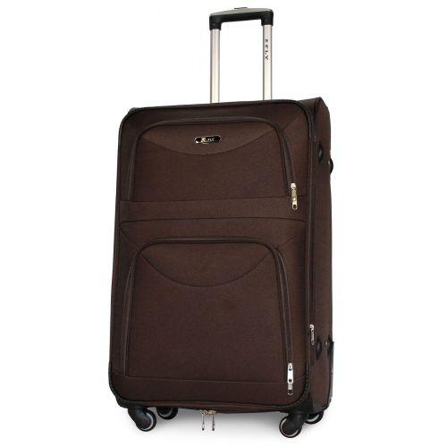 Набор чемоданов Fly 6802 на 4-х колесах 3 штуки коричневый