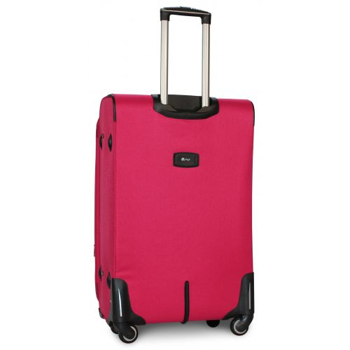 Набор чемоданов Fly 6802 на 4-х колесах 4 штуки розовый