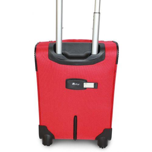 Чемодан Fly 6802-4S маленький на 4-х колесах красный