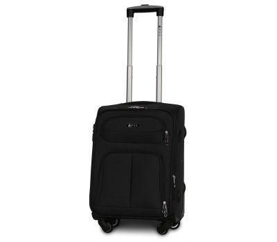 Тканевый чемодан Fly 8279-4S маленький на 4-х колесах черный