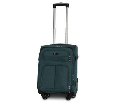 Тканевый чемодан Fly 8279-4S маленький на 4-х колесах зеленый