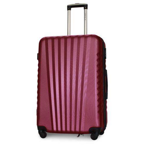 Набор чемоданов Fly 8844 4 штуки бордовый