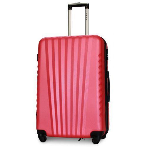 Набор чемоданов Fly 8844 4 штуки розовый