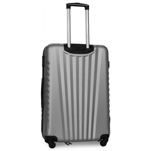 Набор чемоданов Fly 8844 4 штуки серебряный