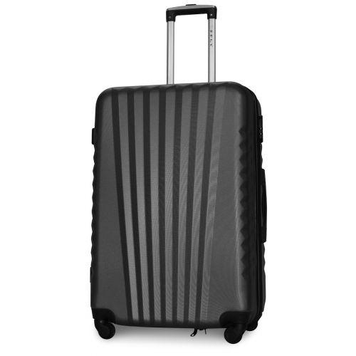 Набор чемоданов Fly 8844 4 штуки серый