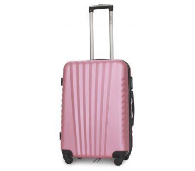 Чемодан Fly 8844 средний светло-розовый