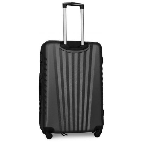 Набор чемоданов Fly 8844 3 штуки серый