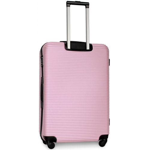 Чемодан Fly 91240 большой светло-розовый