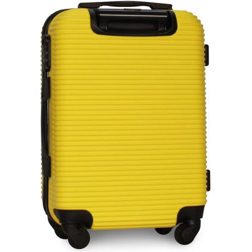Чемодан Fly 91240 средний желтый