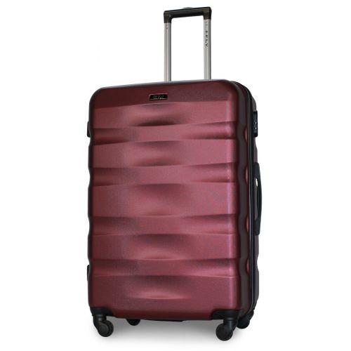 Набор чемоданов Fly 960 4 штуки бордовый