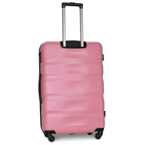 Набор чемоданов Fly 960 3 штуки светло-розовый