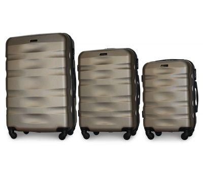 Набор чемоданов Fly 960 3 штуки шампань