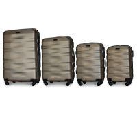 Набор чемоданов Fly 960 4 штуки шампань