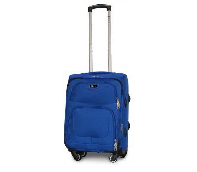 Дорожный чемодан Fly 1220-4S маленький на 4 колесах голубой