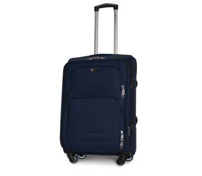Дорожный чемодан Fly 1220-4M средний на 4 колесах синий