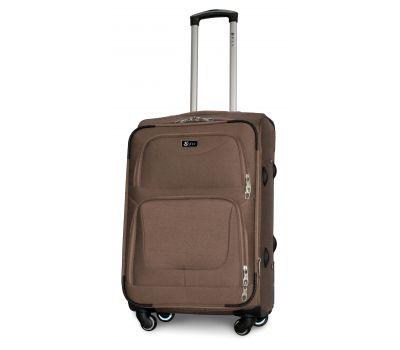Дорожный чемодан Fly 1220-4M средний на 4 колесах бежевый