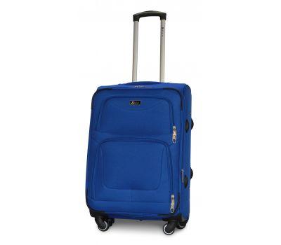 Дорожный чемодан Fly 1220-4M средний на 4 колесах голубой