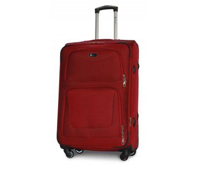 Дорожный чемодан Fly 1220-4L большой на 4 колесах бордовый