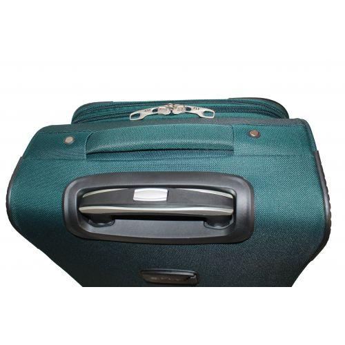 Дорожный чемодан Fly 1220-4S маленький на 4 колесах зеленый