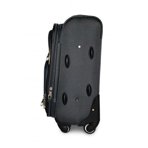 Набор дорожных чемоданов Fly 1220 на 4 колесах 3 штуки черный