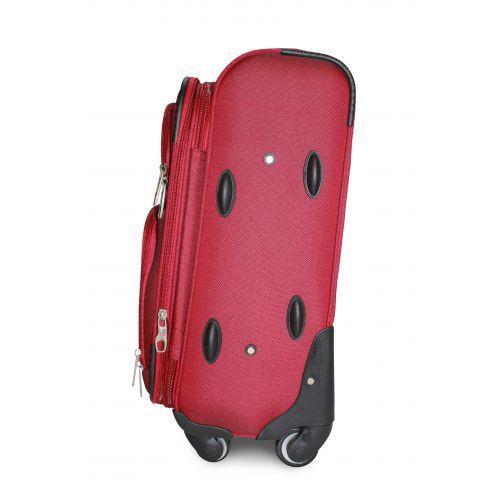 Дорожный чемодан Fly 1220-4S маленький на 4 колесах бордовый