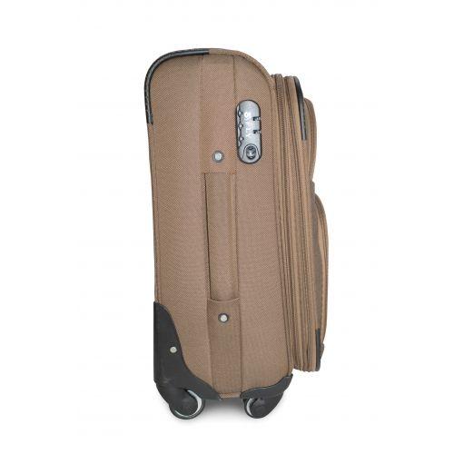 Набор дорожных чемоданов Fly 1220 на 4 колесах 3 штуки бежевый