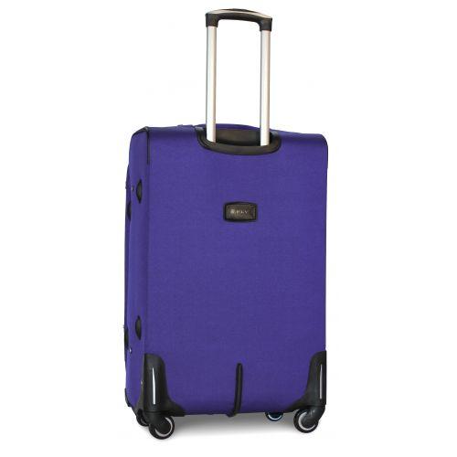 Набор дорожных чемоданов Fly 1220 на 4 колесах 3 штуки middle blue