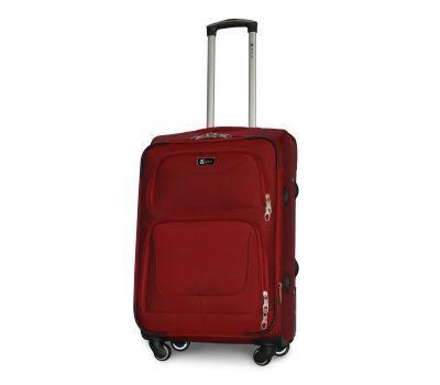 Дорожный чемодан Fly 1220-4M средний на 4 колесах бордовый