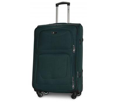 Дорожный чемодан Fly 1220-4L большой на 4 колесах зеленый