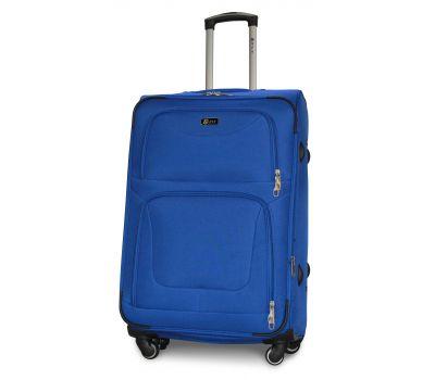 Дорожный чемодан Fly 1220-4L большой на 4 колесах голубой
