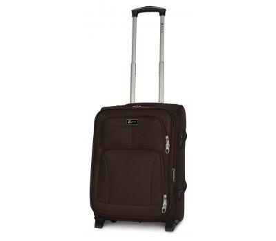 Дорожный чемодан Fly 1509-2S маленький на 2 колесах кофейный