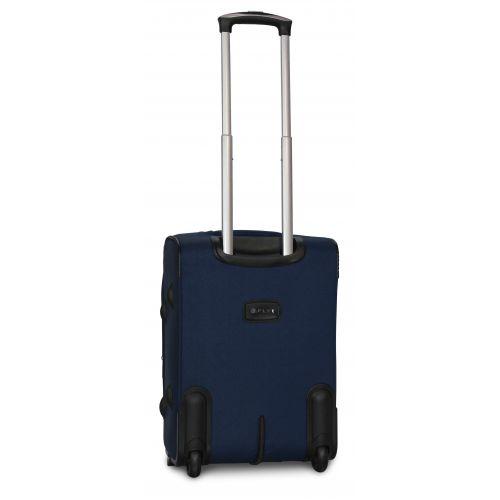 Дорожный чемодан Fly 1509-2S маленький на 2 колесах синий