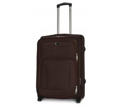Дорожный чемодан Fly 1509-2M средний на 2 колесах кофейный