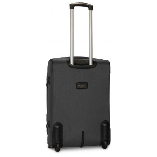 Дорожный чемодан Fly 1509-2M средний на 2 колесах серый