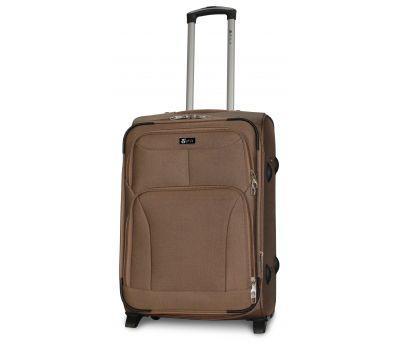 Дорожный чемодан Fly 1509-2M средний на 2 колесах бежевый