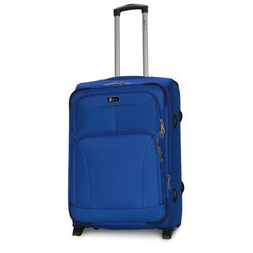 Набор дорожных чемоданов Fly 1509 3 штуки на 2 колесах голубой