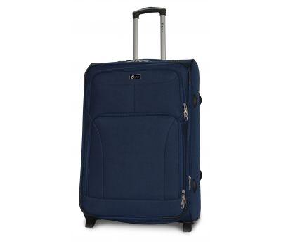 Дорожный чемодан Fly 1509-2L большой на 2 колесах синий