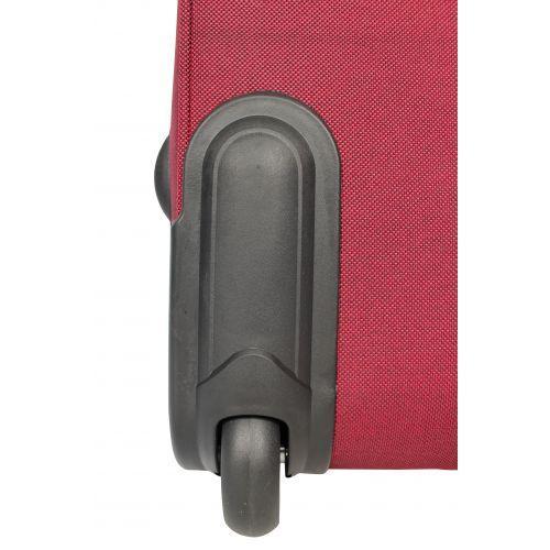 Дорожный чемодан Fly 1509-2S маленький на 2 колесах бордовый