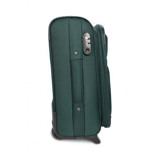 Дорожный чемодан Fly 1509-2L большой на 2 колесах зеленый