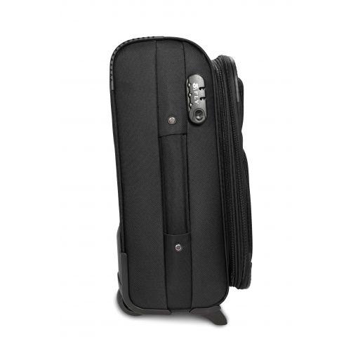 Дорожный чемодан Fly 1509-2M средний на 2 колесах черный