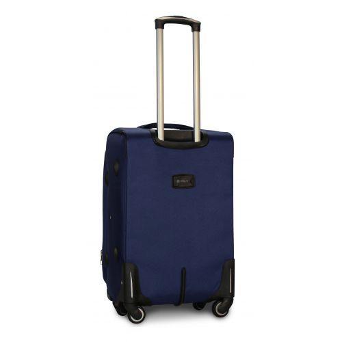 Набор тканевых чемоданов Fly 1807 на 4 колесах 3 штуки синий
