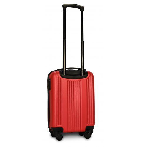 Пластиковый чемодан на колесах Fly 614 мини ручная кладь красный