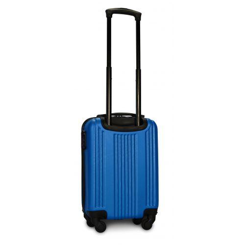 Пластиковый чемодан на колесах Fly 614 мини ручная кладь морская волна